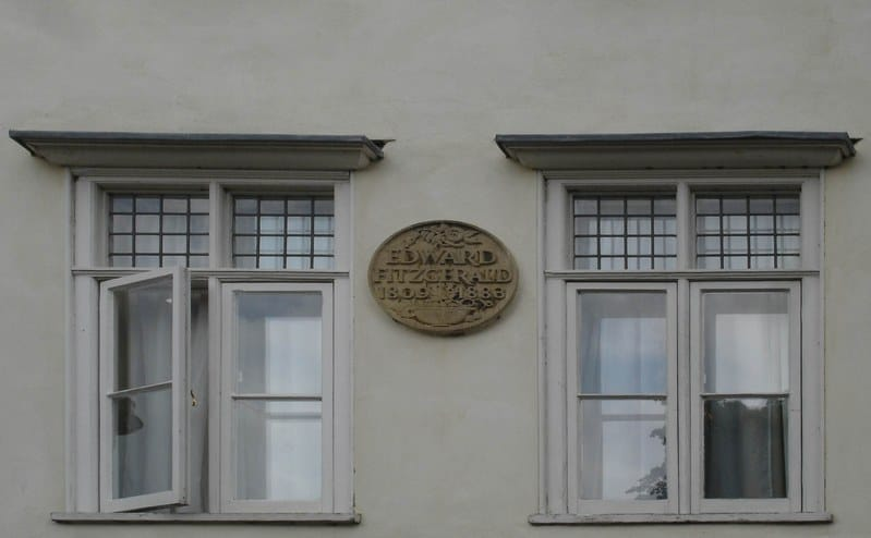 Fitzgerald roomed here: Cambridge LIterary Tours